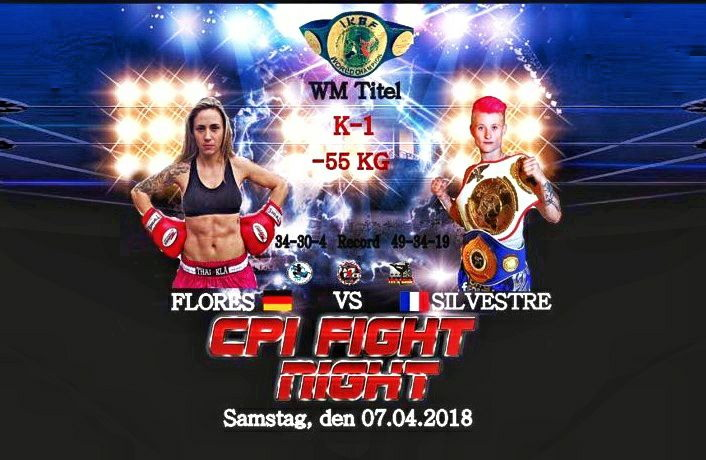 Welttitelkampf Atenea Flores vs. Cindy Sylvestre