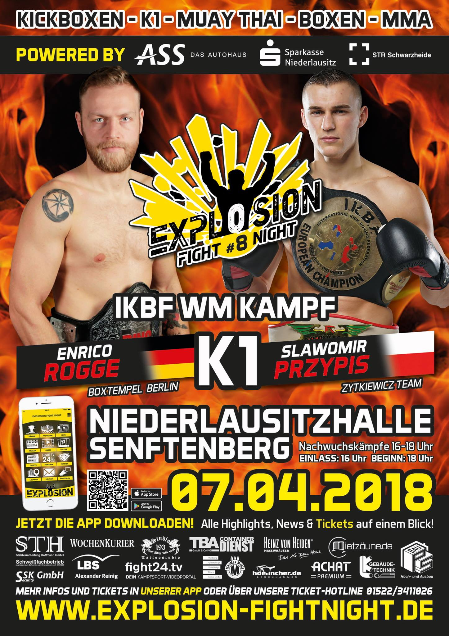Explosion Fight Night 07.04.