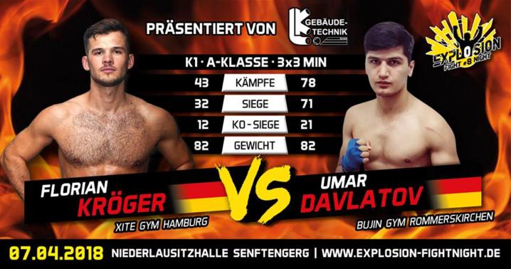 Explosion Fight Night – Umar Davlatov