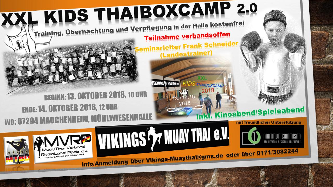 Kids Thaiboxcamp
